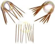 "16"" Inch Circular Bamboo Knitting Needles Premium Collection, 15 Set Collection"