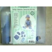 Knit This Baby Beanie, Booties & Bib Level 2/intermediate