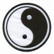 Yin Yang Ying Tao Hippie Hippy Retro Boho Weed Applique Iron-on Patch