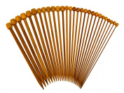 Stanwood Needlecraft Carbonised Patina 23cm Single Point Bamboo Knitting Needles 14 Sizes