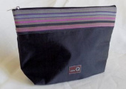 Della Q Large Zip Pouch 1103-1 - Black