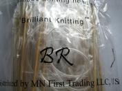 BrilliantKnitting (BR) 14 size 150cm bamboo circular knitting needles pins US 1-15