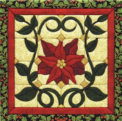 Christmas Poinsettia Quilt Magic Kit Quilt Magic Kit