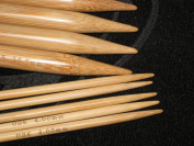 15 sizes 20cm BrilliantKnitting (BR brand) bamboo double pointed DP knitting needles US 0 - 15