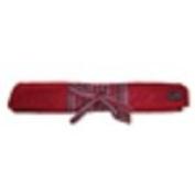 Della Q 25cm Straight Knitting Needle Roll Red