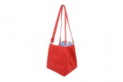 Lantern Moon Square Clip Knitting Bag Red