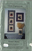 Farmer's Market Quilt Patterns - 5 Patterns - Wall Hangings