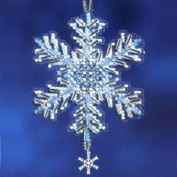 Ice Crystal - Beaded Cross Stitch Ornament Kit - MH162306