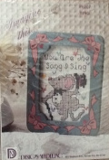 Sing - Cross Stitch Kit with Frame - #6207