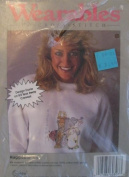 Huggable - Wearables To Cross Stitch Kit 60307