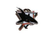 San Jose Sharks NHL Hockey Logo Lapel Pin Badge ... 2.5cm X 2.5cm ... New