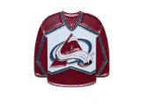 Colorado Avalanche NHL Hockey Logo Lapel Pin Jersey Badge ... 2.5cm X 2.5cm ... New