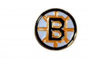 Boston Bruins Logo.. NHL Hockey Logo Lapel Pin Badge ... 2.5cm X 2.5cm ... New