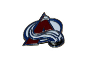 Colorado Avalanche Logo.. NHL Hockey Logo Lapel Pin Badge ... 2.5cm X 2.5cm ... New