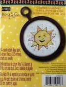 Mary Engelbreit Counted Cross Stitch Kit - Sun