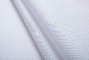 White 18 Ct Counted Cotton Aida Cloth Cross Stitch Fabric 48cm x 48cm