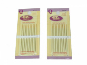 Quilt Basting Needles Size 7 - 2 Packs of 10 Needles Per Package