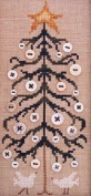 The Button Tree, - Cross Stitch Pattern
