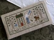 Pocket Calendar Cover - June - Cross Stitch Pattern