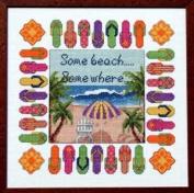 Pegasus Originals Beach Escape Counted Cross Stitch Chartpack