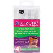 iPhone 4 Case Counted Cross Stitch Kit-White