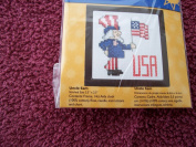 Uncle Sam Counted Cross Stitch Kit