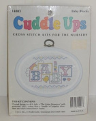 Cuddle Ups Cross Stitch Kit for the Nursery - Baby Blocks
