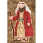 Joseph Ornament Counted Cross Stitch Kit-7.6cm - 1.3cm x 13cm