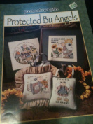 Protected By Angels Counted Cross Stitch Chart