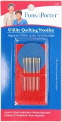 Fons & Porter Utility Quilting Needle, Embroidery, 12-Count