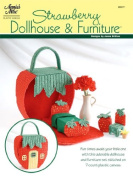 Strawberry Dollhouse and Furniture Plastic Canvas Pattern