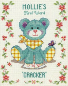 Baby's First Word - Cross Stitch Kit