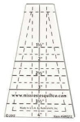 The Lil' Crumbler Tumbler Quilting Template Ruler by Miss Rosie's Quilt Co ~ 3.8cm to 10cm Miniature Solo Cups ~ Dixie Cups