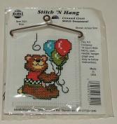 Bear #3521 Stitch 'N Hang Counted Cross Stitch Ornament