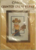 Blue Jean Boy - 13cm x 18cm - Counted Cross Stitch Kit by Caron #6248