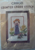 Blue Jean Girl - 13cm x 18cm - Counted Cross Stitch Kit by Caron #6247