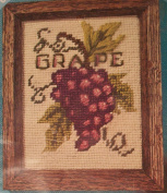 Grape Picture Stitching Craft Kit