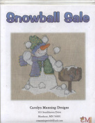 Snowball Sale Snowman Stitching Design