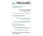 EK Success - Diary Collection - Ten Treasures Rub-ons