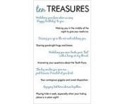 EK Success - Diary Collection - Ten Treasures Rub-ons