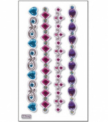 Disney Princess Jewels Le Grande Dimensional Stickers-Bracelet