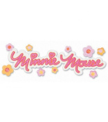 Disney Title Stickers - Minnie Mouse