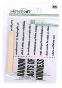 Phrase Cafe Stickers - Random Acts of Kindness
