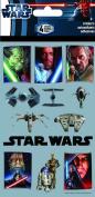 Sandylion Star Wars The Saga Standard Stickers, 4-Sheet