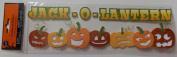Jack-O-Lantern Handmade Stickers