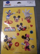 Disney Mickey Mouse Clubhouse Fuzzy Scrapbook Stickers. 9759)