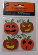 Handmade Jack-O-Lantern Stickers