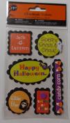 Handmade Halloween Sign Stickers