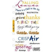 Autumn Greetings Stickers // Sticko