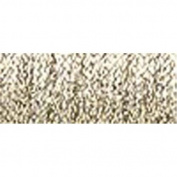 Kreinik Very Fine Metallic Braid #4 12yd-Hi Lustre White Gold